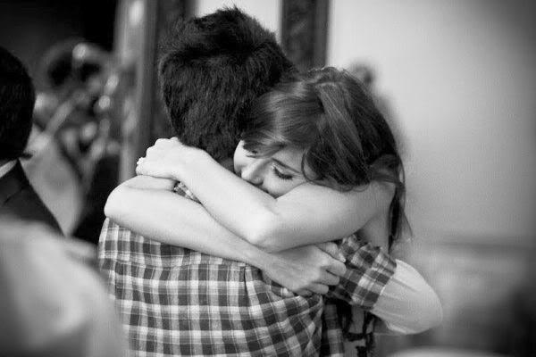 Το αγκάλιασμα της αγάπης